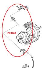 Shimano Linea Rodillo Set Aero Technium 14000 XTC Mgs Guía de Línea Pieza PK0463