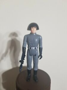 Vintage Kenner Star Wars DEATH SQUAD COMMANDER * LILI LEDY SCARRED NO  INSIGNIA