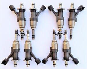 Set of 8 - NEW OEM GM Fuel Injectors 12668390 fits 14-18 Chevy GMC 1500 5.3L V8