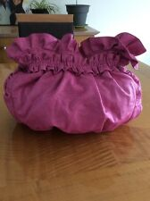 Woman's Purse Hand Bag Pink  Imitation Leather Large