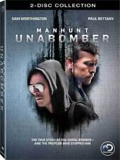 MANHUNT: UNABOMBER (2017): Discovery Channel TV Drama MiniSeries - NEW  DVD R1