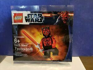LEGO 5000062 DARTH MAUL Shirtless Star Wars Exclusive Dual Saber PolyBag -  NEW