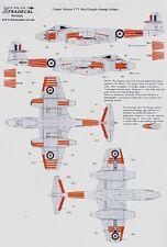Xtradecal 1/72 Meteor F.TT Mk.8 Dayglo Orange Stripes # 72115
