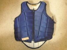 Racesafe 2010 Body Back Protector navy blue child L standard back age 11-13