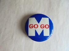 Vintage Machinists Union Go Go Pinback Button