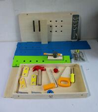 Hape Meister-Werkbank multifunktionale Spielzeug Kinder (O145-R52)