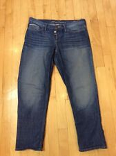 👖 Eddie Bauer Button Fly Relaxed Boyfriend Jeans Sz 4 👖