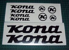 Kona Bike Sticker Decals Set of 10 MTB DH Stab Deluxe Supreme Stinky Operator