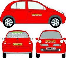 HERBALIFE NUTRICIÓN Diseño Set Completo Adhesivos para coche publicidad cartel