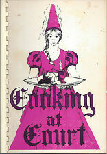*WESTFIELD MA 1975 COOKING AT COURT COOK BOOK *WOMAN'S CLUB *MASSACHUSETTS LOCAL