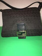 Authentic Fendi Handbag Purse Baguette Excellent Condition