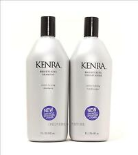 Kenra Professional Brightening Violet Toning Shampoo and conditioner liter duo