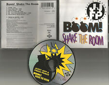 Will Smith JAZZY JEFF FRESH PRINCE Boom Shake the Room 7TRX MIXES & UNRELEASE CD