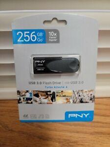 PNY 256GB Turbo Attach/é 4 USB 3.0 Flash Drive P-FD256TBAT4A-GE