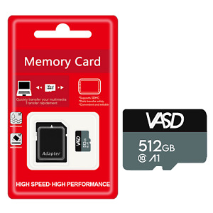 Micro SD card 512GB BUNDLE✅OFFICIAL SALE✅FREE DELIVERY, BRAND NEW, WITH ADAPTER