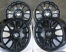 "18"" Bl CH ALLOY WHEELS FIT VAUXHALL OPEL ASTRA CORSA MERIVA SIGNUM VECTRA ZAFIRA"