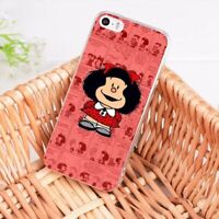 Mafalda Quino cartoon Case cover iPhone 5 6 6S 7 8 + plus X XR XS MAX