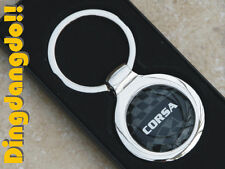 Corsa Chrome Alloy Keyring Key Ring Gift fit for Vauxhall
