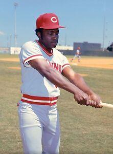 Joe Morgan - Cincinnati Reds, 8x10 Color Photo