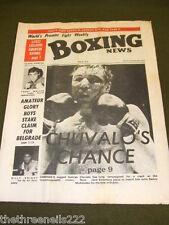 BOXING NEWS - GEORGE CHUVAL - MAY 4 1973