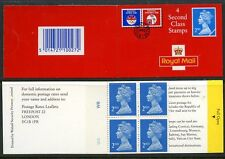 GB QE2 BARCODE BOOKLET 1992 HA5 4x2nd OLYMPIC W6W8 + BLIND