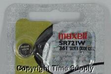 361 Battery ( 1 Pc ) Maxell 361 Sr721W V361 Sr721 28053 Sr58