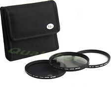 72mm Lens Filter Kit  UV+CPL+ND4 ND 0.6 Polarizer for Canon EF 28-135mm IS