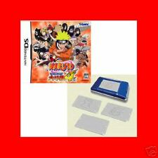 NEW NDS DS Naruto Saikyo Ninja Daikesshu 4 +Cover plate