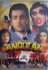ANDOLAN - NEW ORIGINAL BOLLYWOOD DVD -Sanjay Dutt, Govinda..