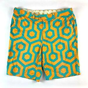 "Loudmouth Golf by John Daly Premium Shorts Actual Size Men's W40"""
