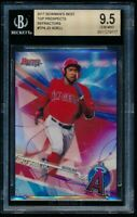 JO ADELL BGS 9.5 GEM MINT ANGELS ROOKIE REFRACTOR 1ST RC SP 2017 BOWMAN'S BEST A
