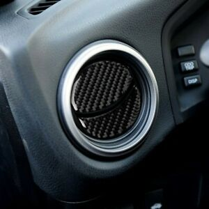 Car Carbon Fiber Air Outlet Conditioning Vent Covers for Subaru BRZ/Toyota 86