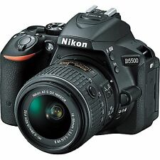 Nikon D5500 DSLR BlackCamera + AF-S DX 18-55mm f/3.5-5.6G VR II Lens *BRAND NEW