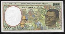 Central African States / Cameroun P-202E 1000 Francs 1993-2002 Unc