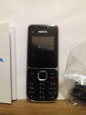 Nokia C2-01 - Negro (Naranja) Teléfono Móvil