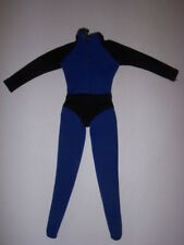 VINTAGE IDEAL TAGGED CAPTAIN ACTION BLUE AND BLACK UNIFORM SUIT OUTFIT TIGHTS!