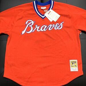 Dale Murphy Atlanta Braves Mitchell & Ness Mesh Baseball Jersey - Size 2XL