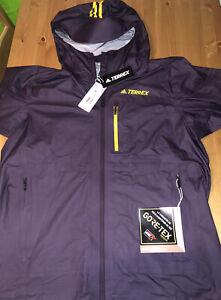 Adidas FastR Gore-tex Terrex jacket sz L New With Tags