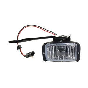 NEW LEFT DRIVER SIDE FOG LIGHT FITS CHEVROLET C3500 K3500 1988-96 1997 GM2592106