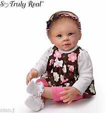 Ashton Drake baby Doll SWEET BROWN-EYED GIRL Poseable