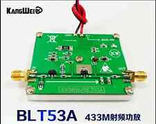 Blt53A 433M 2W Rf power amplifier with si4463, Si4432 data transmission module