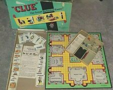 """1950 Clue  """"The Great New Detective Game"""" complete boxed edition"""