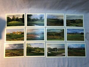 Linda Hartough The International Collection 12 Note Cards Golf Assorted Card