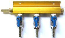 3 Way Air Manifold  Kegerator Parts Home Beer tap -1743