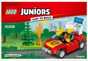 New LEGO JUNIORS Fire car Set  30338 Polybag 32-pcs