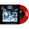"""Star Wars: The Imperial March (Darth Vader's Theme) Mandalorian 7"""" Red Vinyl LP"""