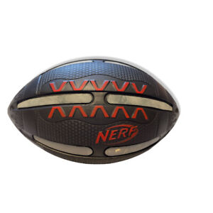 Nerf Fire Vision Football With Reflective Stripes For Night, Hasbro 2011 EUC!