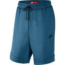 Nike Men's Tech Fleece Shorts Blue805160 457 Size L