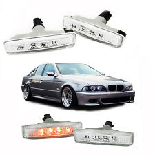 Intermitentes led para Bmw E39 Serie 5 acabado claro side repeaters clignotants