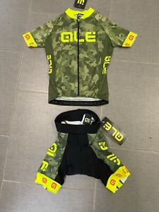 Alé Cycling Excel Militare Kids Jersey + Shorts